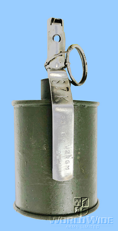 M637 Russian Designed Warsaw Pact RG42 Inert Grenade (FFE) - World Wide Arms