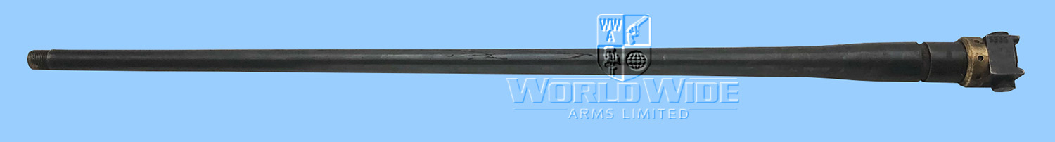 DAB529 SHOW OFFER Scarce Maxim 08 Deactivated Light Machine Gun Barrel - World Wide Arms