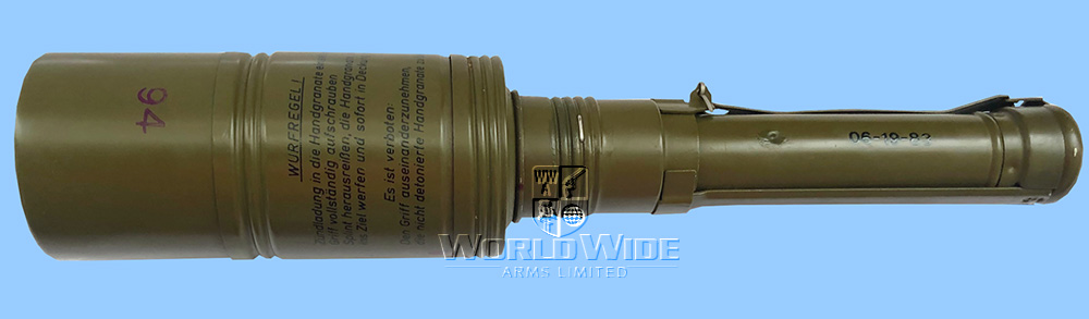 M632 East German Inert (FFE) RKG-3CU Anti-Tank Hand Grenade - World Wide Arms