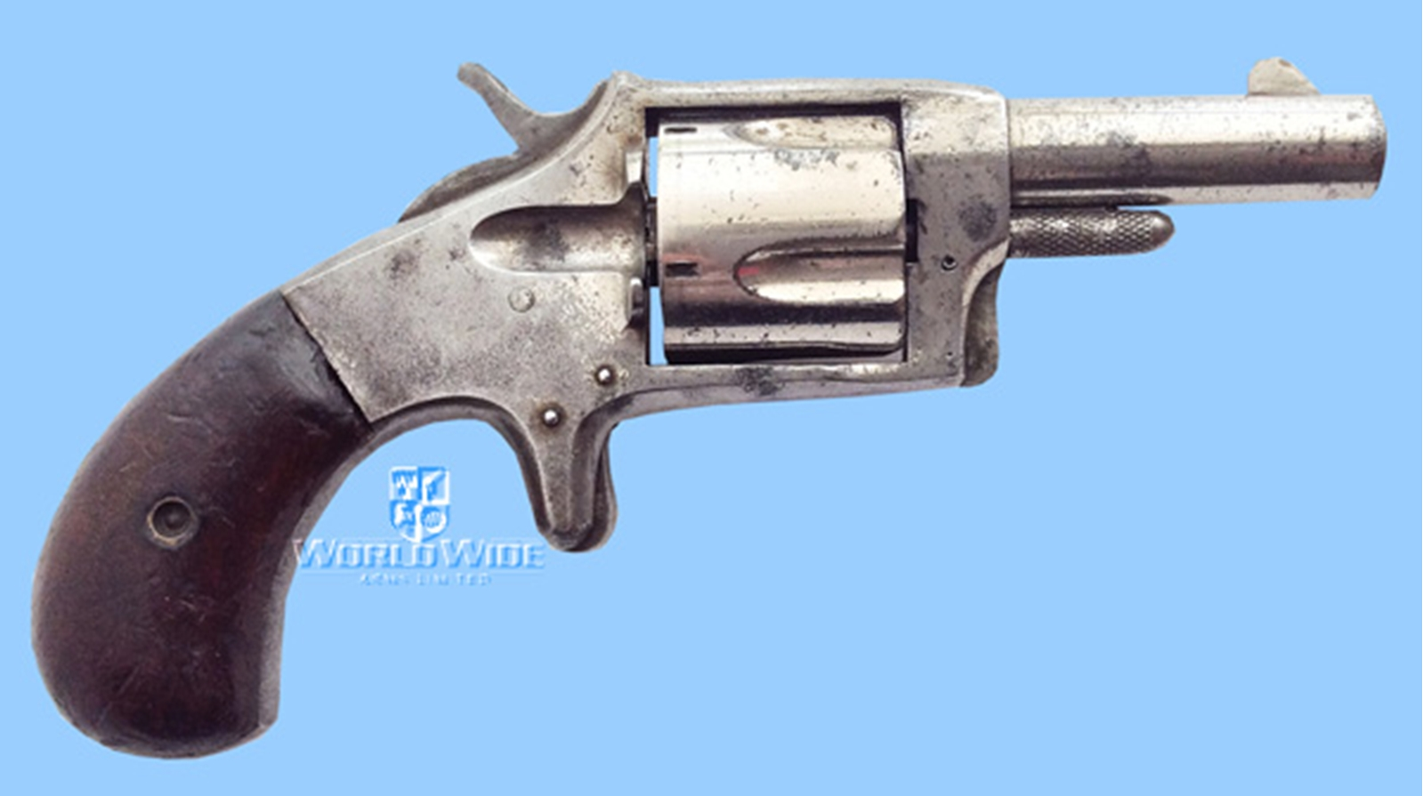 "G570 Antique American .38 RF ""SMOKER"" Pocket Revolver - World Wide Arms"