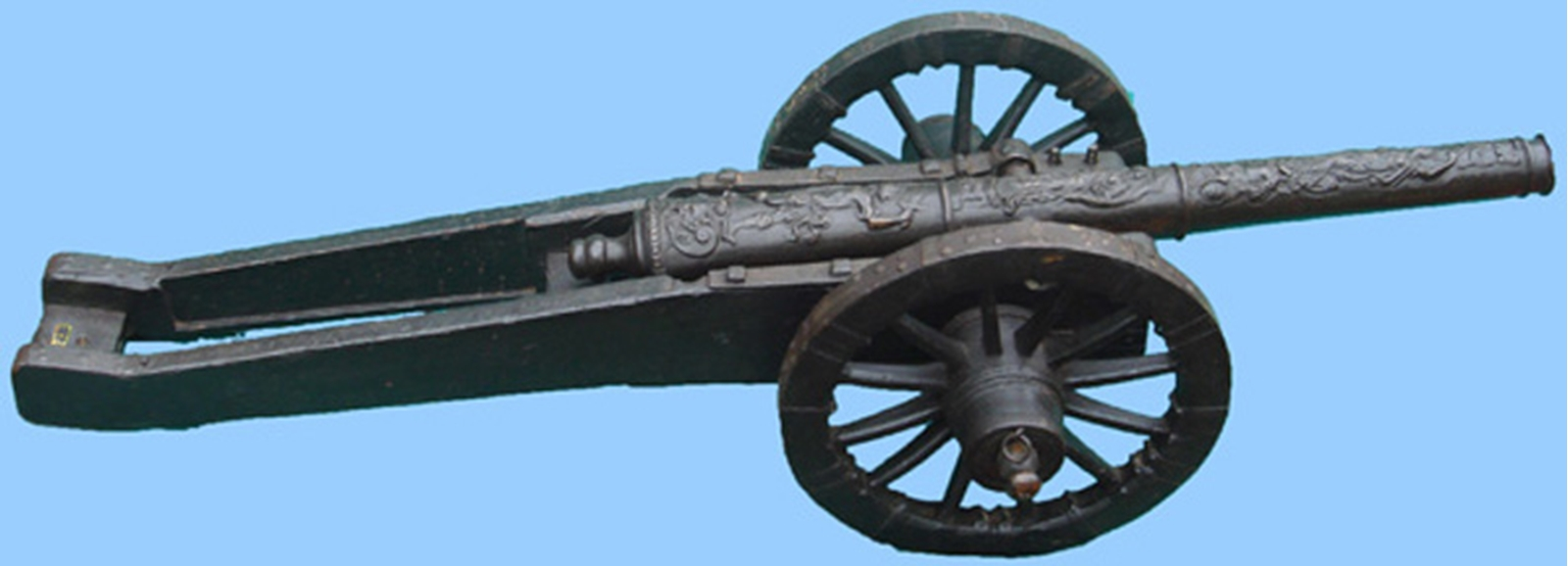 G431 Antique Miniature Bronze Cannon - World Wide Arms