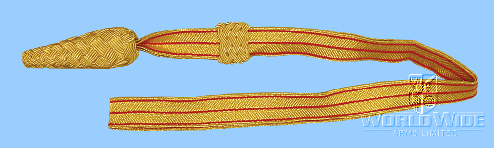 A158 British Infantry Dress Sword Knot - World Wide Arms