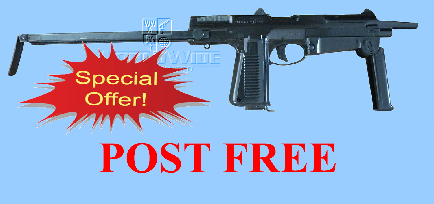DA476 SHOW OFFER Polish PM63 RAK Machine Pistol - World Wide Arms